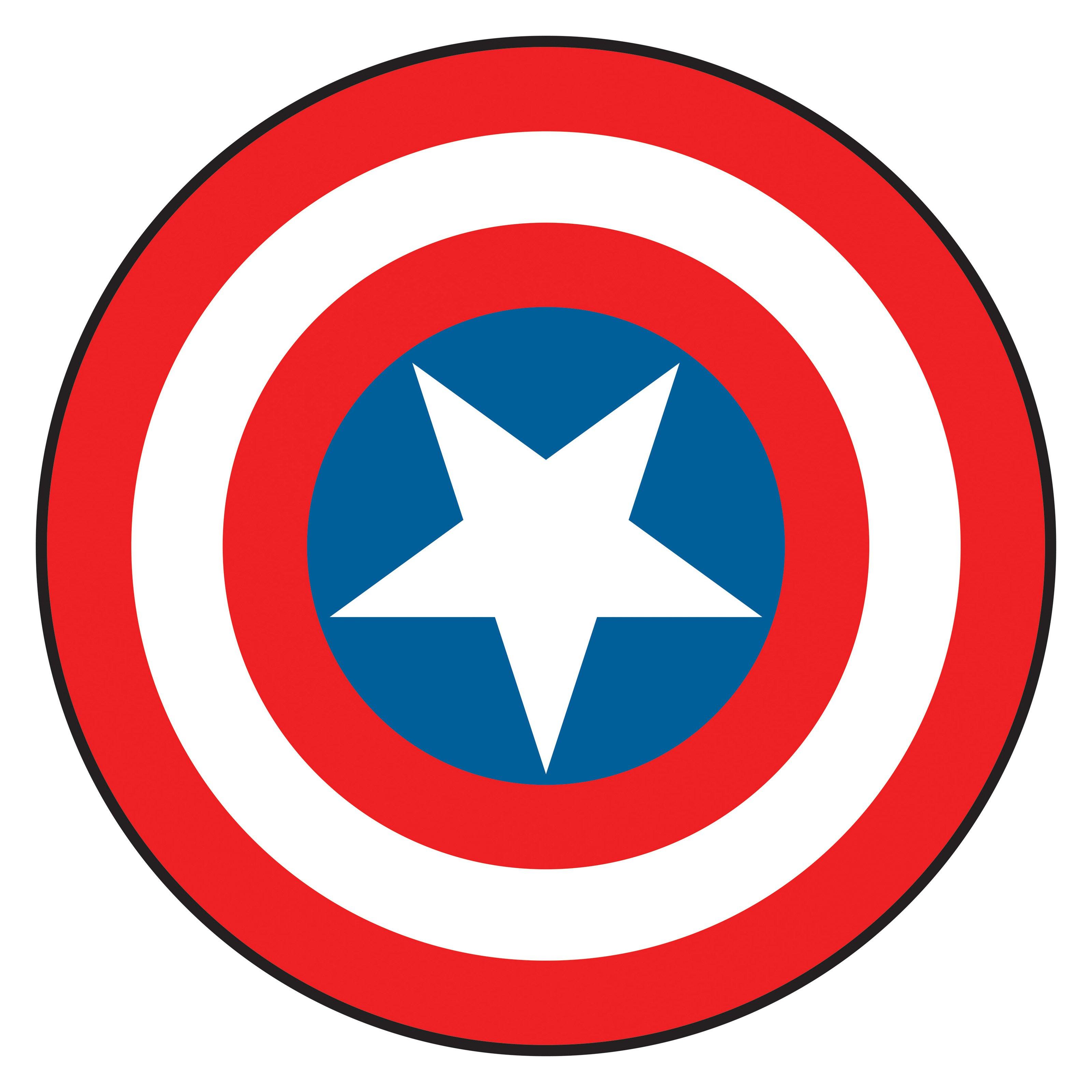 3200x3200 Captain America Clip Art