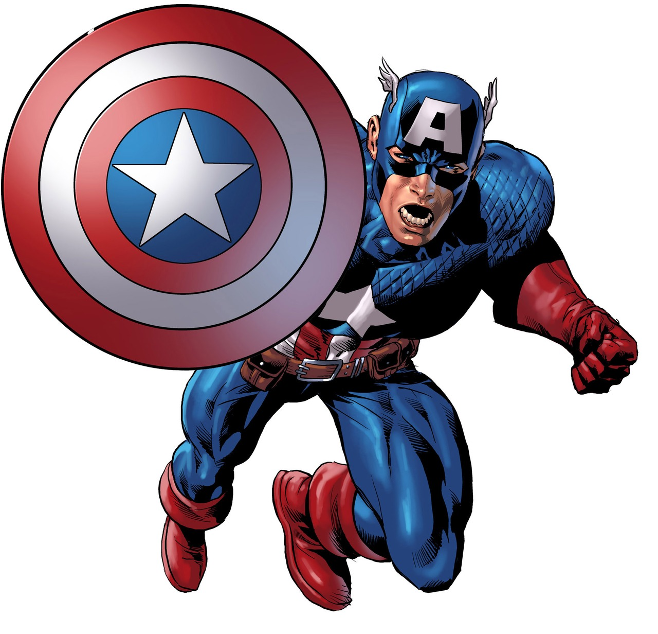 1280x1232 Captain America Clipart Clipart Panda