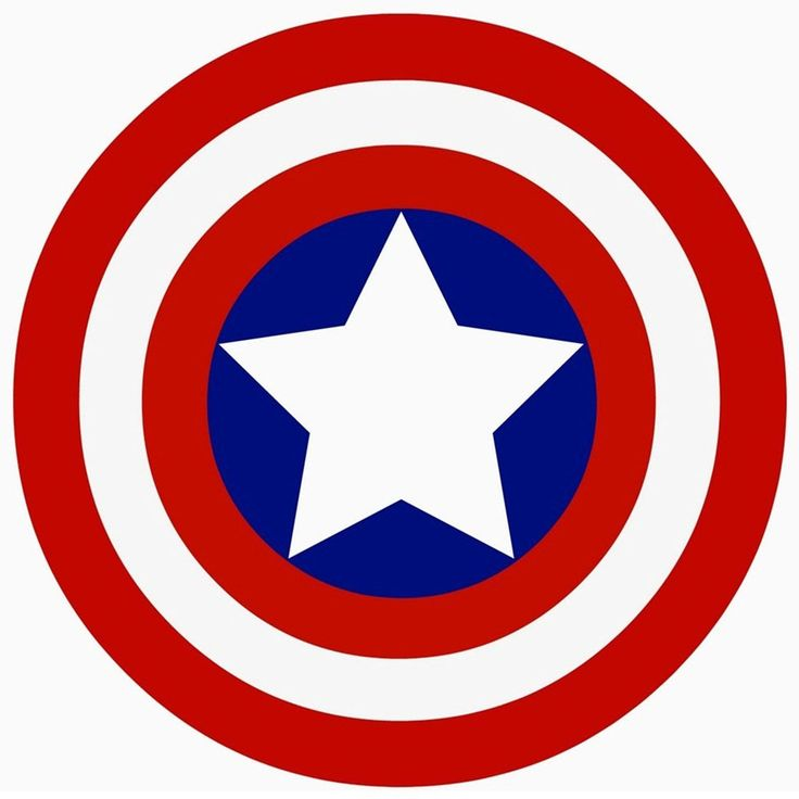 736x736 Captain marvel logo clipart
