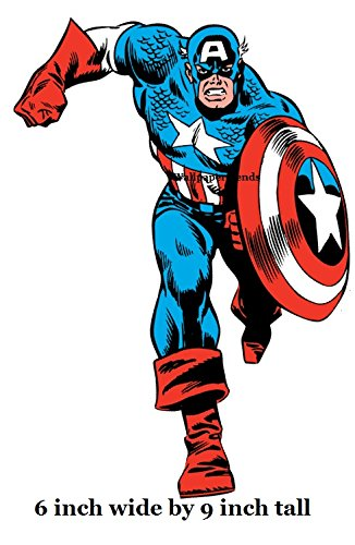 326x500 9 Inch Classic Captain America Shield Capt Marvel