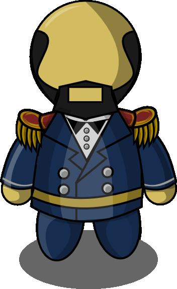 352x574 Uniform Clipart Ship Captain