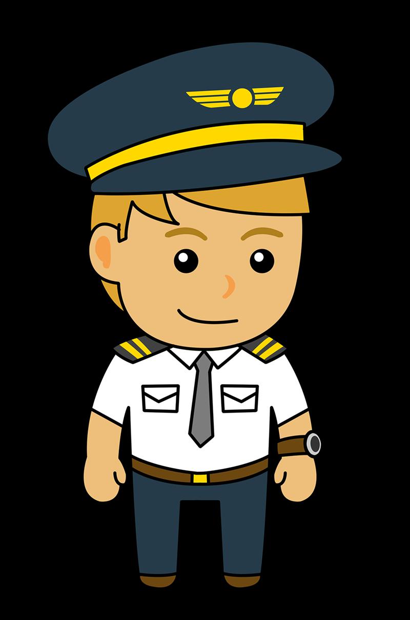 800x1209 Airplane Clipart Captain