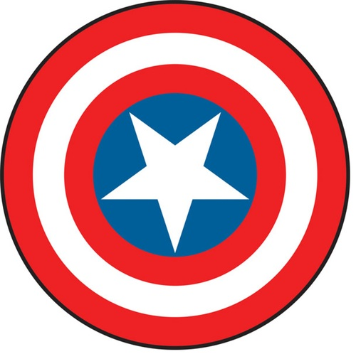500x498 Captain America Clipart