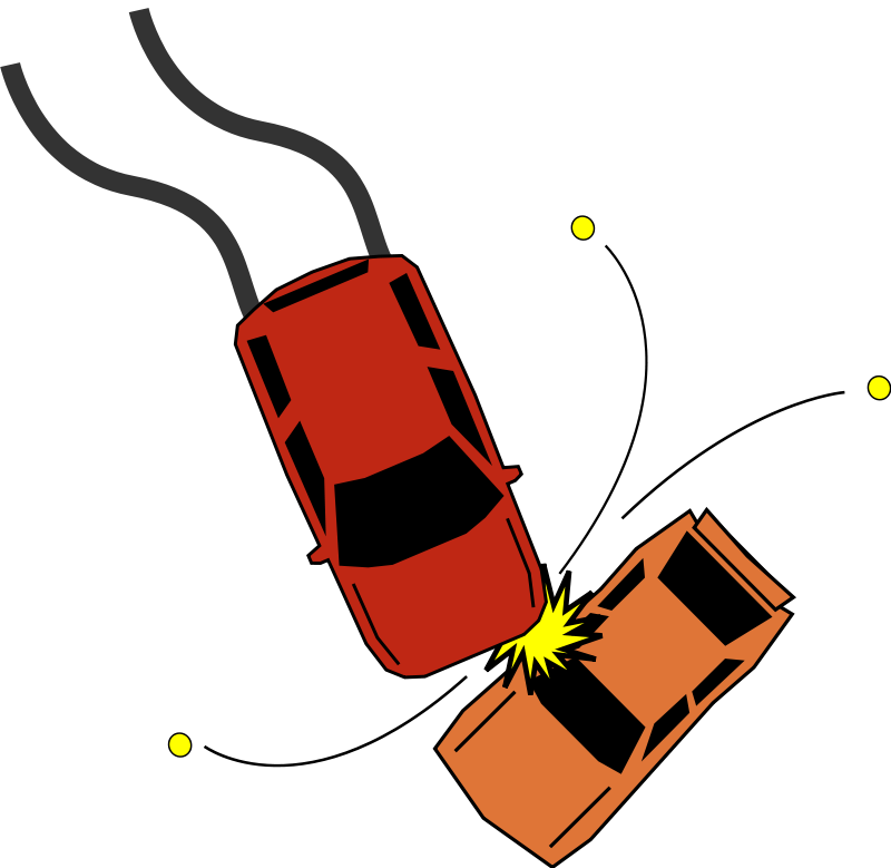 800x779 Free Car Accident Clip Art