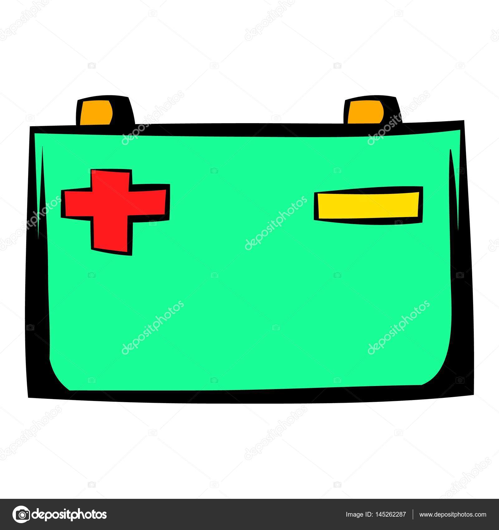 1600x1700 Car Battery Icon Cartoon Stock Vector Juliarstudio