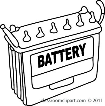 Electronics Battery Symbols Diagrams