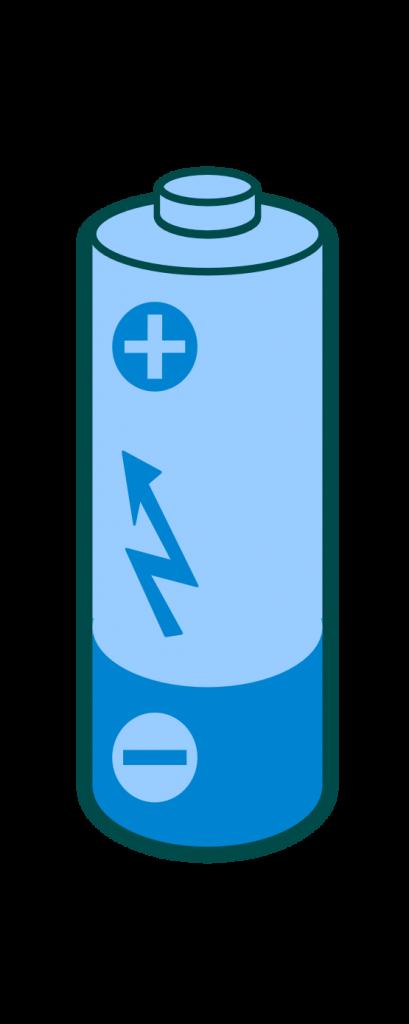 409x1024 Battery Clipart