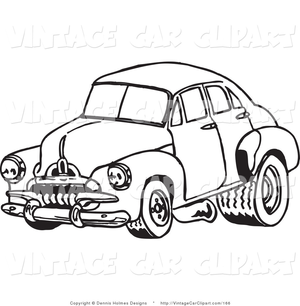 1024x1044 Car Black And White Clipart