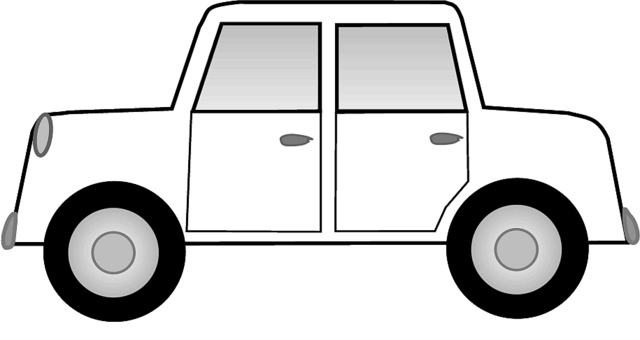 640x340 Car black and white a car clipart black and white 2