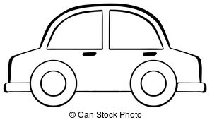 300x170 Car black and white black and white car clip art image