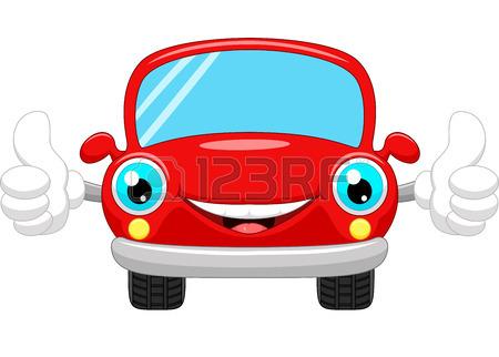 450x322 Cartoon Car Gives Thumbs Up Royalty Free Cliparts, Vectors,