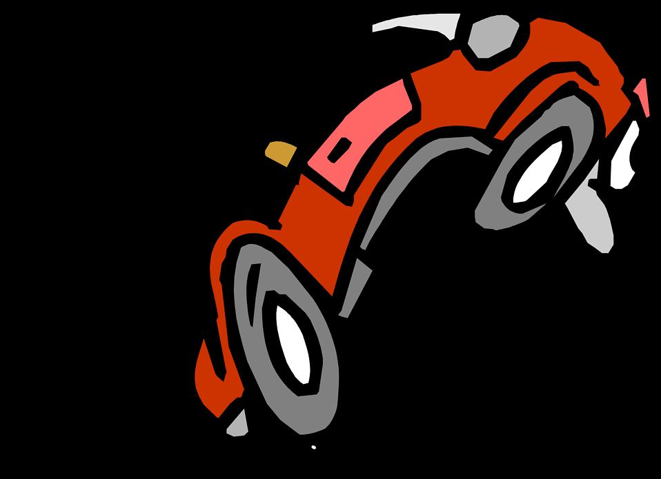958x695 Car Free Stock Photo Illustration Of A Car Cartoon