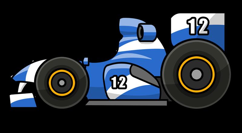 800x441 Free Cartoon F1 Racing Car Clip Art