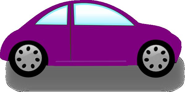 600x299 Purple Car Clip Art