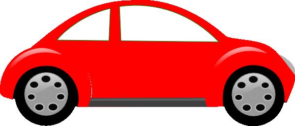 600x258 Red Cartoon Car Clipart