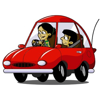 346x346 Car Cartoon Picture