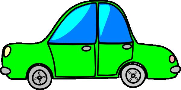 600x299 Car Green Cartoon Transport Clip Art