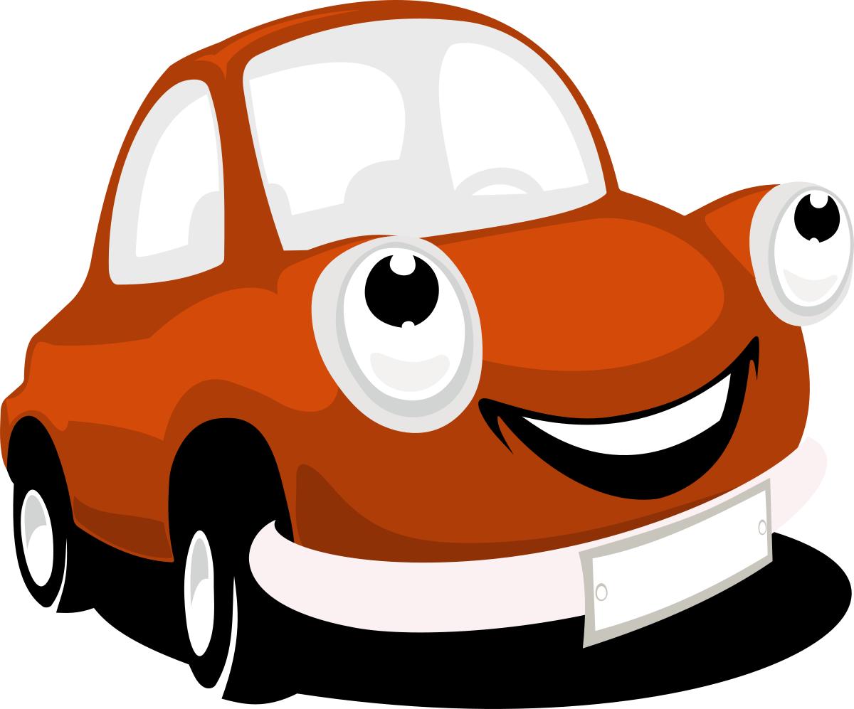 1200x997 Smiling Cartoon Car Vector Png Clipart