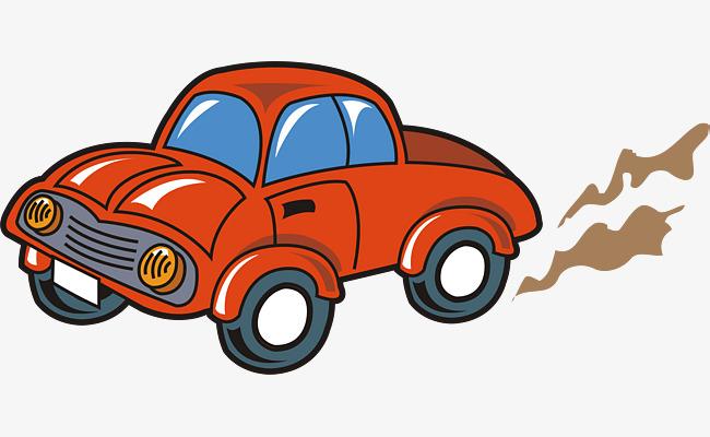 650x400 Car Png Vector Material, Car, Cartoon, Exhaust Png And Vector