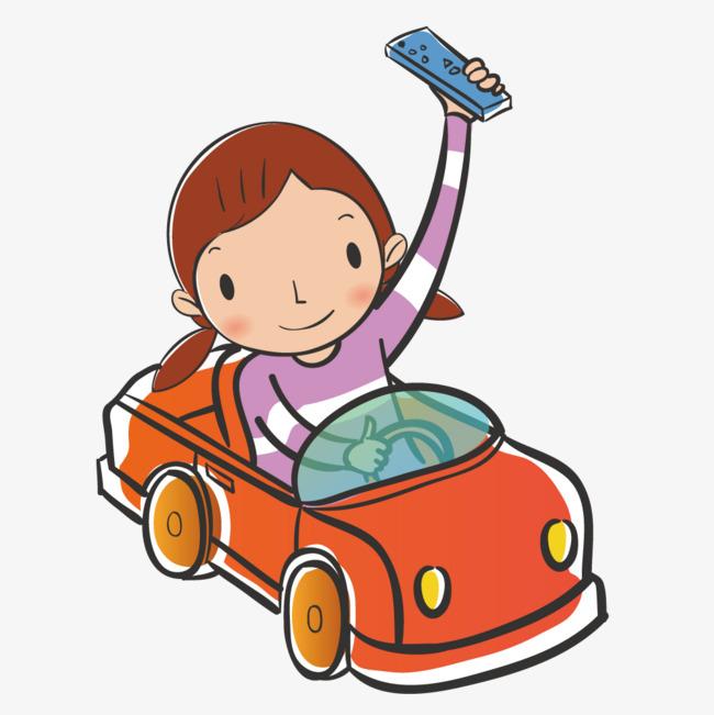 650x651 Girl Driving A Car, Transportation, Car, Cartoon Png And Vector