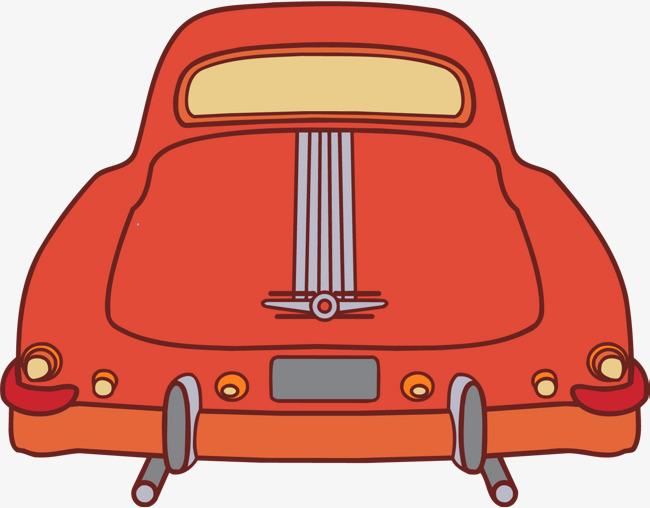 650x508 Vector Cartoon Red Car, Vector Car, Cartoon Car, Red Car Png