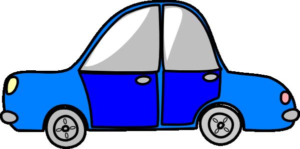 600x299 Car Transport Blue Clip Art