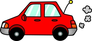 300x135 Clipart Of Car