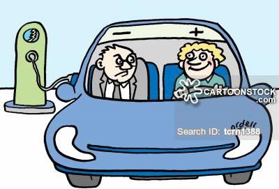 400x271 Electric Vehicle Cartoons And Comics