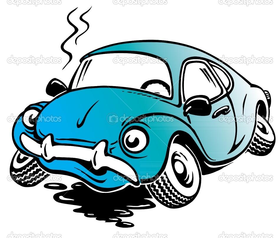 950x807 Old Car Cartoon Clipart