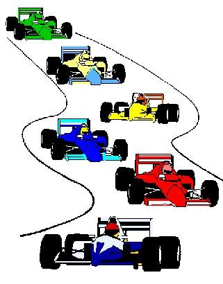 321x410 Racing Clipart Cartoon