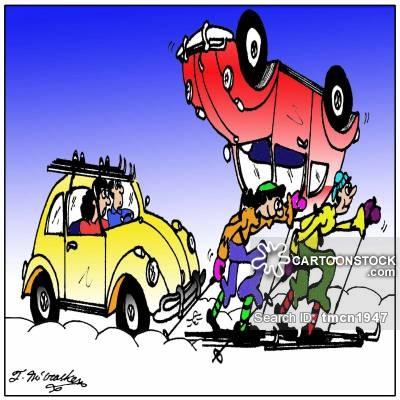 400x400 Winter Driving Cartoons And Comics