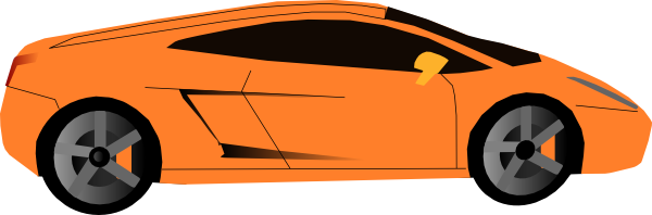 600x198 Image of Sports Car Clipart