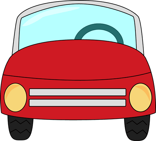 500x453 Red Car Clip Art