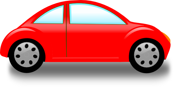 600x301 Red Car Clip Art