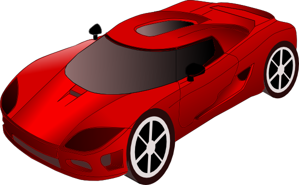 600x371 Sports Car Clip Art