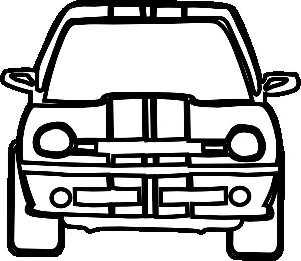 600x520 Car Clip Art