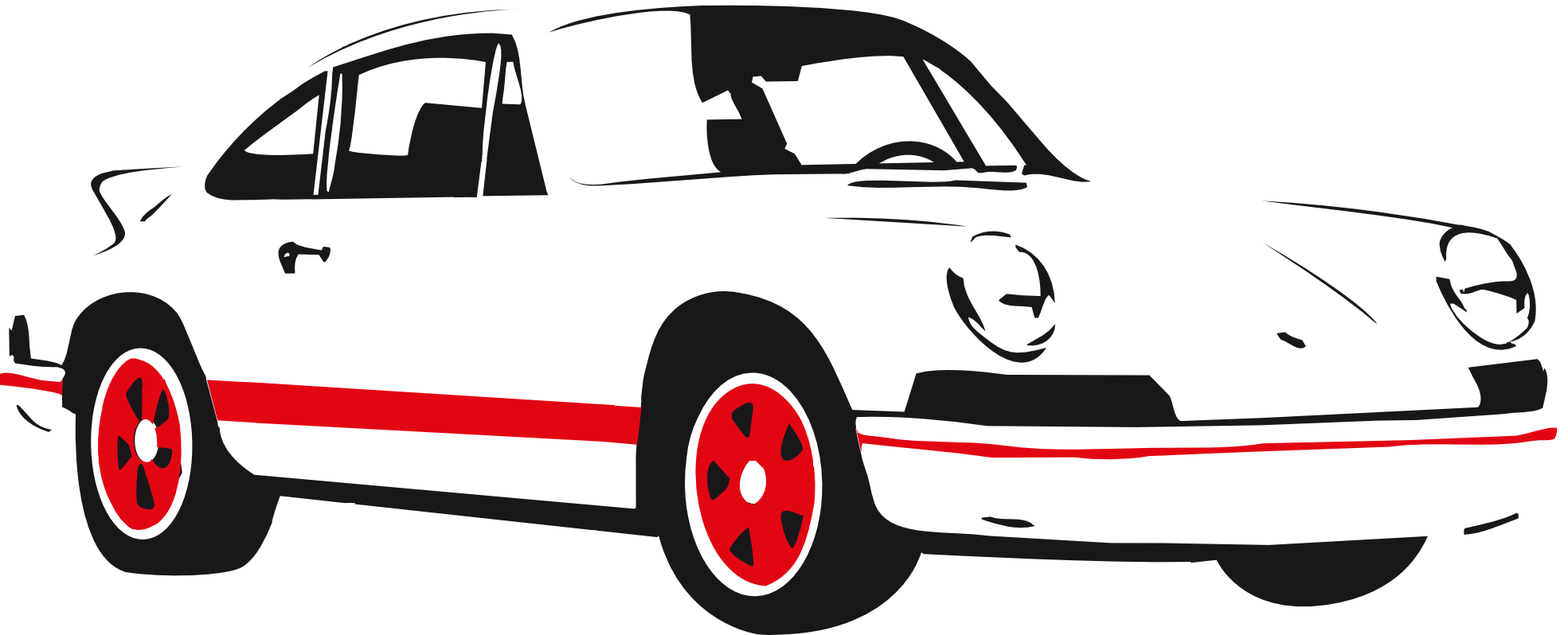 1969x798 Image Of 39 Car Clipart Black And White Images
