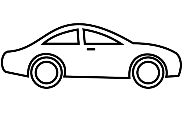 600x375 Car Black And White Race Car Clipart Black And White