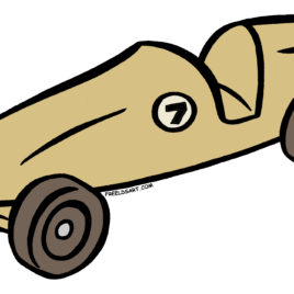 268x268 Clip Art Derby Car Clipart Clipart Kid Coloring Pages Pinewood