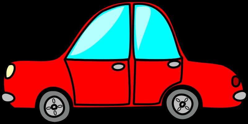 800x399 Blue Car Clipart Red
