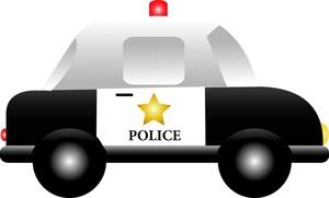 300x181 Police Car Clipart Image Cliprt Cartoon