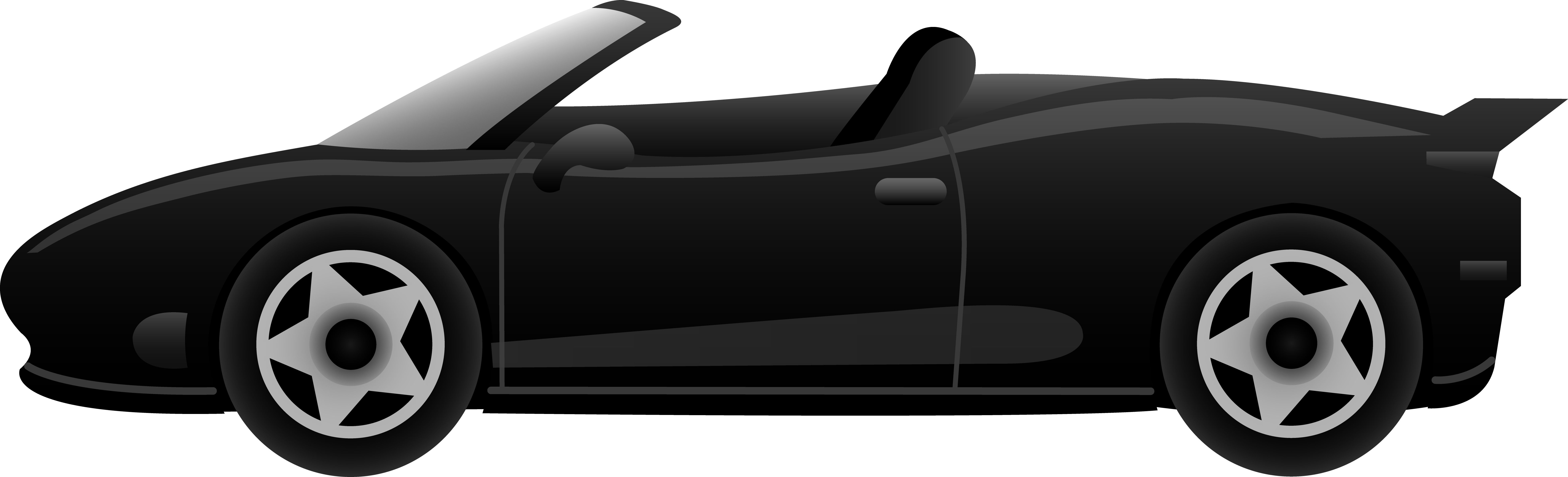 7863x2391 Race Car Clipart Side View