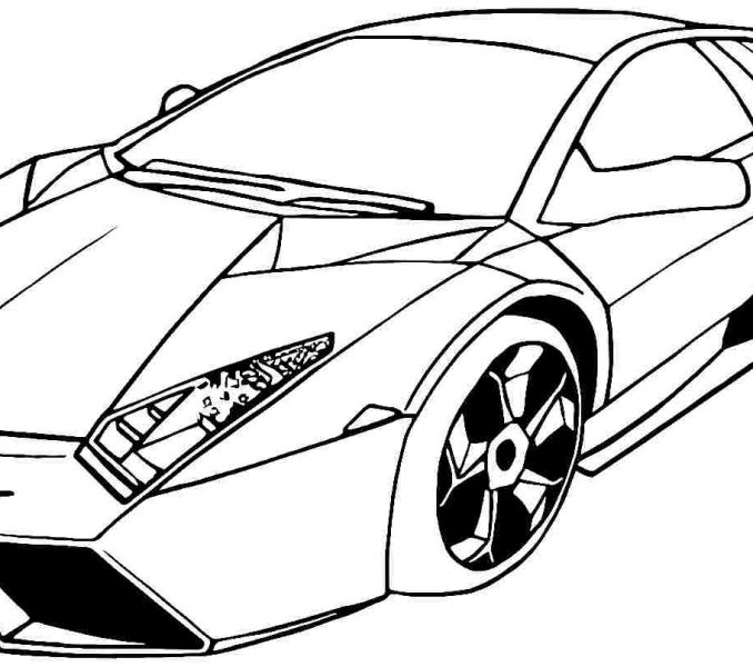 678x600 Car Coloring Pages Best Coloring Pages