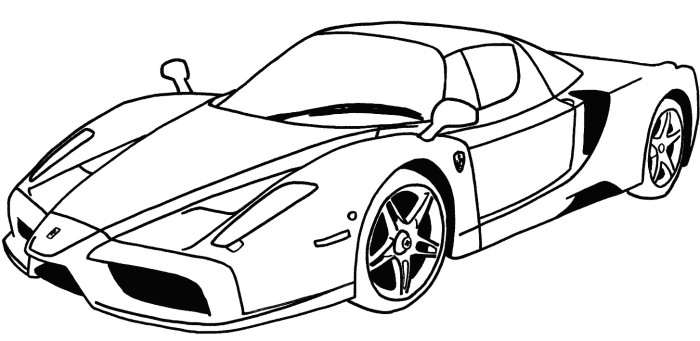 700x341 Outstanding Sports Car Coloring Pages 92 On Free Coloring Kids