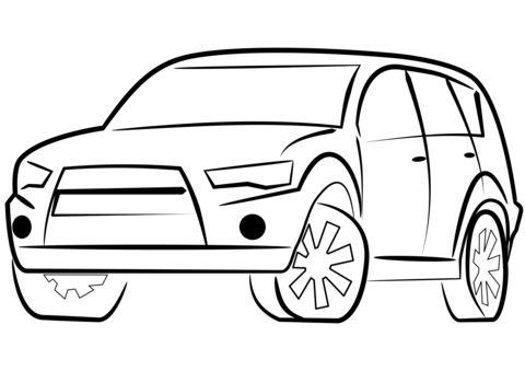 480x339 Suv Car Coloring Page Free Printable Coloring Pages
