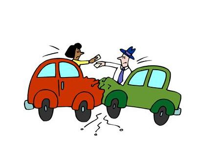 415x320 Car Crash Cartoon