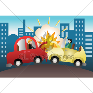 325x325 Car Crash No Background Gl Stock Images