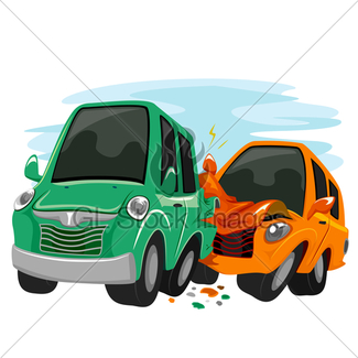 325x325 Mascot Car Crash Gl Stock Images
