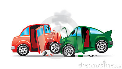 400x225 Car Collision Clipart