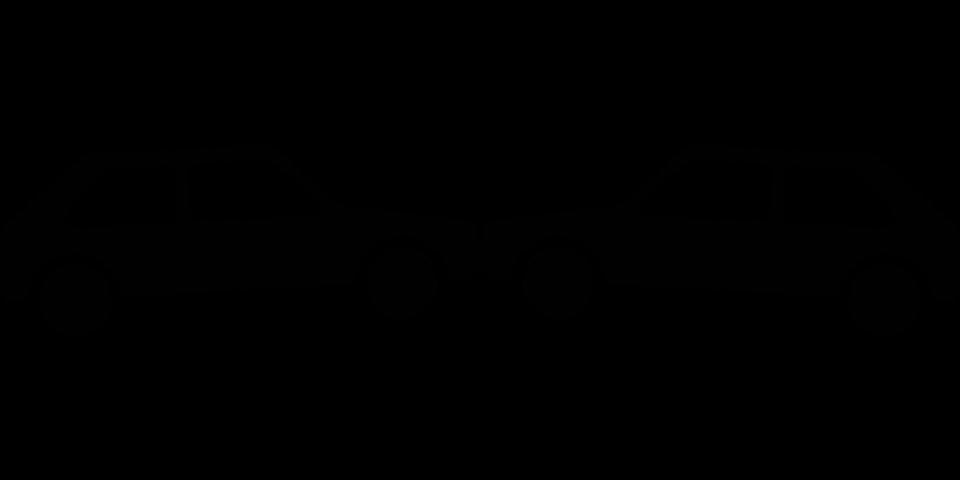 960x480 Crash Clipart Black And White